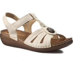 Rzymianki damskie: Sandały INBLU – CX116J15  Beżowy