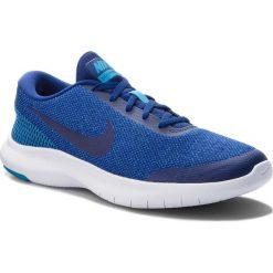 Buty NIKE - Flex Experience Rn 7 908985 403 Deep Royal Blue/Blue Hero. Niebieskie buty do biegania męskie marki Nike, z materiału, nike flex. W wyprzedaży za 219,00 zł.