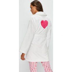 Answear - Szlafrok. Szare szlafroki kimona damskie ANSWEAR, l, z materiału. W wyprzedaży za 99,90 zł.