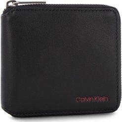 Duży Portfel Męski CALVIN KLEIN - Double Edge Square Z K50K503996 910. Czarne portfele męskie marki Calvin Klein, ze skóry ekologicznej. Za 299,00 zł.