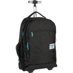 """Walizka-plecak """"Wheely"""" w kolorze czarnym - 33 x 52 x 19,5 cm. Czarne plecaki męskie Chiemsee Bags, w paski. W wyprzedaży za 260,95 zł."""