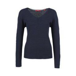 Swetry klasyczne damskie: S.Oliver Sweter Damski 34 Niebieski