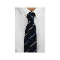 Krawat jedwabny Regular #30. Niebieskie krawaty męskie The bow bow ties, z jedwabiu. Za 99,00 zł.