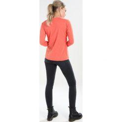 Schöffel LONGSLEEVE LA MOLINA Koszulka sportowa orange. Brązowe topy sportowe damskie Schöffel, z elastanu, z długim rękawem. Za 229,00 zł.