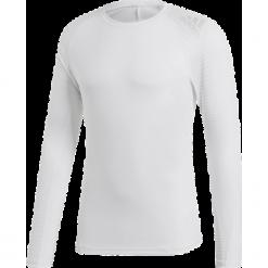 Koszulka do biegania męska ADIDAS ALPHASKIN SPORT TEELS WHITE/PRINT / CZ9142. Białe koszulki do biegania męskie Adidas, m, z dzianiny, z długim rękawem, climalite (adidas). Za 149,00 zł.