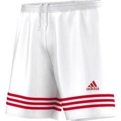Spodenki i szorty męskie: Adidas Spodenki męskie Entrada 14 biało-czerwone r. L (F50636)