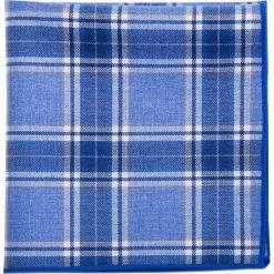 Poszetka bawełniana POWS002037. Niebieskie poszetki męskie Giacomo Conti, z bawełny. Za 79,00 zł.