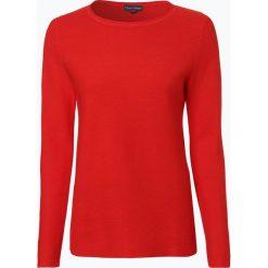 Franco Callegari - Sweter damski, czerwony. Zielone swetry klasyczne damskie marki Franco Callegari, z napisami. Za 229,95 zł.