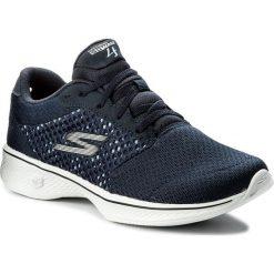 Buty SKECHERS - Exceed 14146/NVW Navy/White. Niebieskie buty do fitnessu damskie marki Skechers. W wyprzedaży za 179,00 zł.