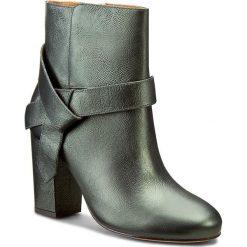 Buty zimowe damskie: Botki KAZAR - Iga 26762-01-09 Zielony
