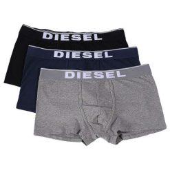 Diesel Zestaw Bokserek Męskich Damien 3 Szt. S Wielokolorowe. Czarne bokserki męskie marki Diesel, z bawełny. Za 179,00 zł.
