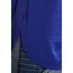 Bluzki asymetryczne: Cortefiel SLEEVELESS WITH GATHERED FRONT Bluzka blues