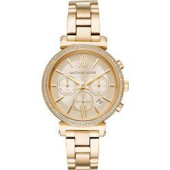 Zegarek MICHAEL KORS - Sofie MK6559 Gold/Gold. Żółte zegarki damskie Michael Kors. Za 1290,00 zł.