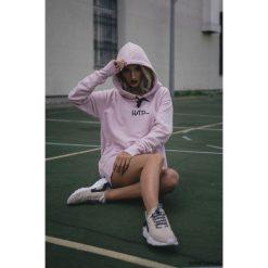 Bluzy damskie: Bluza Damska Hoodie Classic Powder Pink