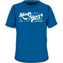 T-shirty chłopięce: BEJO Koszulka dziecięca QUOTE JRB Imperial Blue r. 140