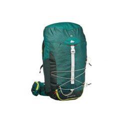 Plecak turystyczny NH100 40 l. Szare plecaki męskie marki QUECHUA, z elastanu. Za 169,99 zł.