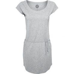 RED by EMP Slub Yarn Jersey Dress Sukienka szary. Białe sukienki na wesele marki bonprix, z wełny, eleganckie, moda ciążowa. Za 94,90 zł.