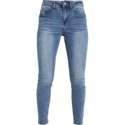 Lost Ink Petite MID RISE IN JANUS Jeans Skinny Fit mid denim. Niebieskie boyfriendy damskie Lost Ink Petite, petite. Za 169,00 zł.