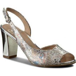 Sandały damskie: Sandały CAPRICE – 9-28304-28 Offwhite Re.Mu 112
