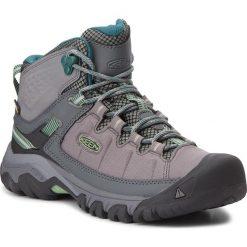 Trekkingi KEEN - Targhee Exp Mid Wp 1017741 Steel Grey/Basil. Szare buty trekkingowe damskie Keen. W wyprzedaży za 399,00 zł.