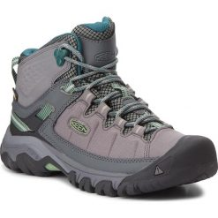 Buty trekkingowe damskie: Trekkingi KEEN - Targhee Exp Mid Wp 1017741 Steel Grey/Basil