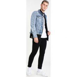 New Look CODY BLACK RIP PAINT SPLAT Jeans Skinny Fit black. Czarne jeansy męskie New Look. Za 129,00 zł.