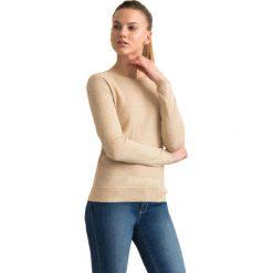 """Swetry klasyczne damskie: Sweter """"Sata"""" w kolorze beżowym"""