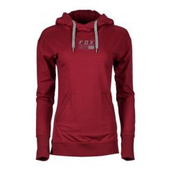 FOX Bluza Damska S Czerwona. Czerwone bluzy z kieszeniami damskie FOX, s. W wyprzedaży za 285,00 zł.