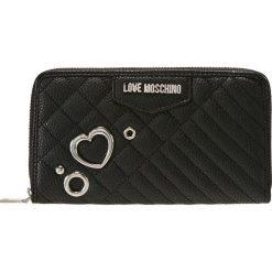 be47b8bb42041 Love Moschino HEART WALLET Portfel nero. Czarne portfele damskie Love  Moschino