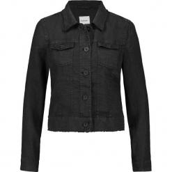 Dżinsowa kurtka w kolorze czarnym. Czarne kurtki damskie marki Taifun. W wyprzedaży za 173,95 zł.