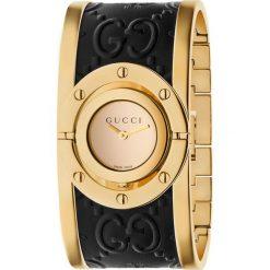 ZEGAREK GUCCI TWIRL YA112444. Czarne zegarki damskie marki GUCCI, ze stali. Za 4690,00 zł.