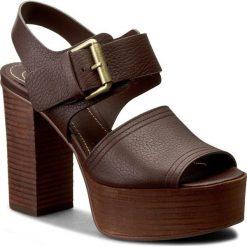 Rzymianki damskie: Sandały SEE BY CHLOÉ – SB28186  Gianduia 529