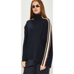 Swetry oversize damskie: Tommy Hilfiger - Sweter Tommy Icons