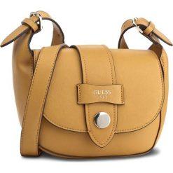 Torebka GUESS - Shane Mini-Bag HWVG67 83780  TOP. Żółte listonoszki damskie marki Guess, z aplikacjami. Za 549,00 zł.