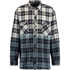 Koszule męskie na spinki: 12 Midnight DIP DYE CHECK SHIRT Koszula black & blue