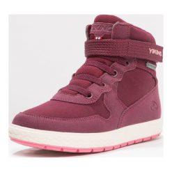 Viking VIGRA WARM UKUT Śniegowce plum/coral. Fioletowe buty zimowe damskie marki Viking, z materiału. W wyprzedaży za 209,50 zł.