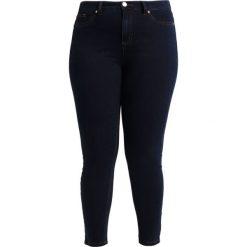 Ashley Graham x Marina Rinaldi IDILLIO Jeans Skinny Fit marine blau. Niebieskie jeansy damskie relaxed fit Ashley Graham x Marina Rinaldi, z bawełny. W wyprzedaży za 923,30 zł.