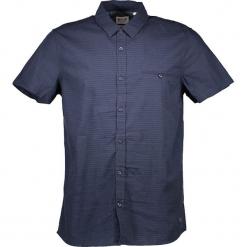 Koszula - Slim fit - w kolorze granatowym. Niebieskie koszule męskie na spinki Mustang, m, w paski, z bawełny, z klasycznym kołnierzykiem. W wyprzedaży za 86,95 zł.
