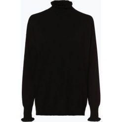 Swetry klasyczne damskie: Opus - Sweter damski – Puzzi, czarny