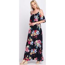 Sukienki: Granatowa Sukienka Monaco