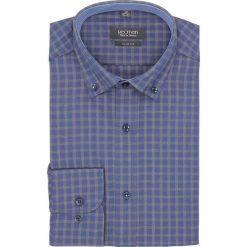 Koszula bexley f2646 długi rękaw slim fit granatowy. Szare koszule męskie slim marki Recman, na lato, l, w kratkę, button down, z krótkim rękawem. Za 139,00 zł.