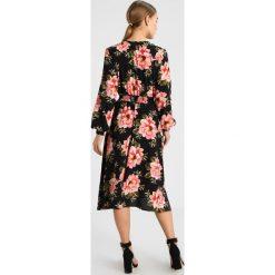 Sukienki hiszpanki: Dorothy Perkins Petite LARGE FLORAL MIDI DRESS Sukienka letnia black