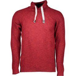 Golfy męskie: Sweter w kolorze czerwonym