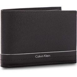 Portfele męskie: Duży Portfel Męski CALVIN KLEIN BLACK LABEL – Saffiano Elias 5CC+C K50K503552 001