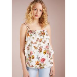 Topy damskie: Needle & Thread RAINBOW ROSE DECONSTRUCTED  Top ivory