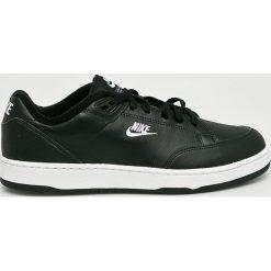 Nike Sportswear - Buty Grandstand II. Czarne halówki męskie Nike Sportswear, z materiału, na sznurówki. Za 359,90 zł.