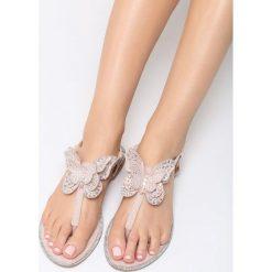 Różowe Sandały Flashy Pink. Czerwone sandały damskie marki vices, na płaskiej podeszwie. Za 59,99 zł.