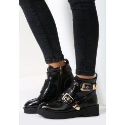 Czarne Botki Fight The Power. Czarne buty zimowe damskie vices. Za 109,99 zł.
