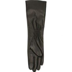 Rękawiczki damskie. Czarne rękawiczki damskie Gino Rossi, ze skóry. Za 209,90 zł.