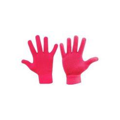 Rękawiczki męskie: Axer RĘKAWICZKI ANTYPOŚLIZGOWE różowe r. XS/S